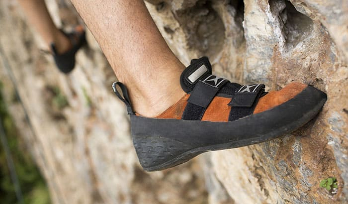 how should climbing shoes fit