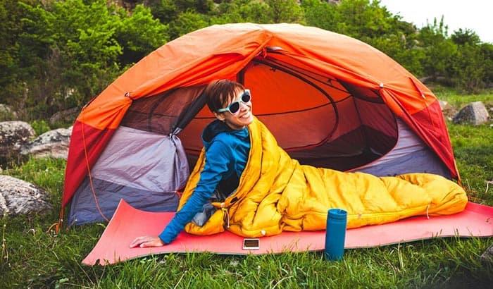 how to make a sleeping bag warmer