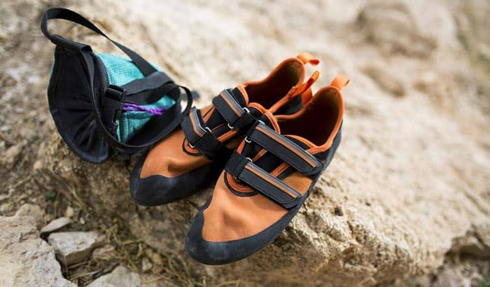 how to wash climbing shoes