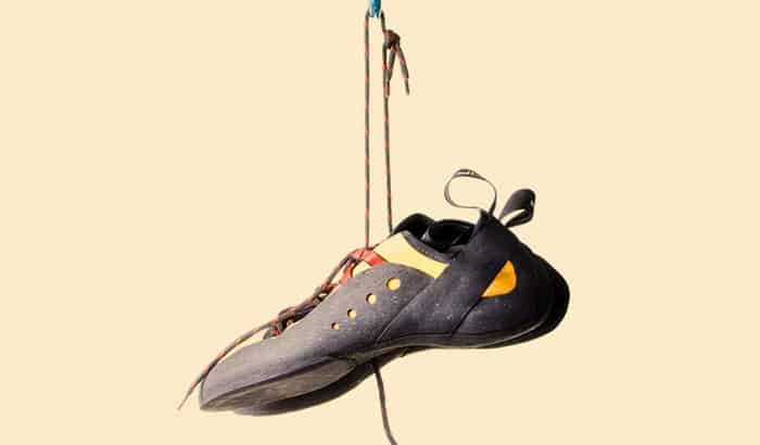 the importance of washing climbing shoes