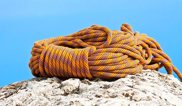 first climbing rope